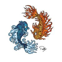 Koi Fish 04 Finished by PennyWise3368