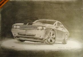 Dodge Challenger by pro-heaven