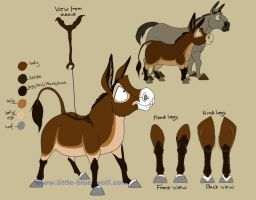 Pickles reference sheet fin by littlebluewolf