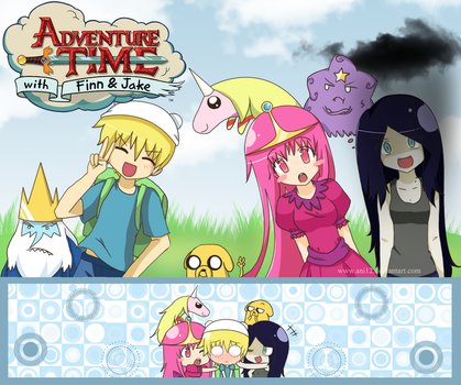 Adventure Time by ani12