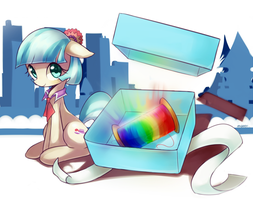 Coco pommel's present by Marenlicious