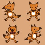 Stickimals - Fox by NeroStreet