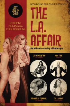 The L.A. Affair Flyer by recipeforhaight