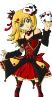 Colored Gambler Lolita by featherfire520