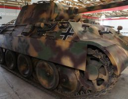 Panzerbefehlswagen V PANTHER Ausf. A  Sd.Kfz. 267a by dunklerfruehling