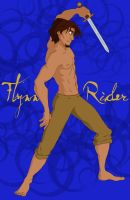 Flynn Rider and a Sword by Margherita13