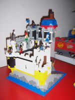 Lego castle 4 by BevisMusson