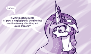 In Which Luna Solves All The Problems by DeusExEquus