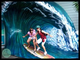 Surfin by AquaNinjaPirate
