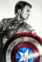 Captain America by Schoerie