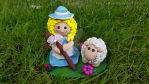 Little Bo Peep and one of her sheep by ohara916
