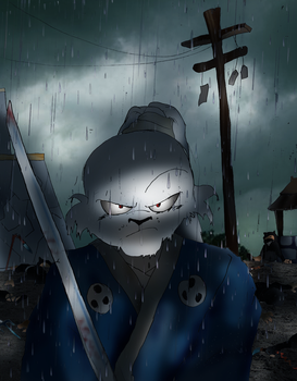 Usagi Yojimbo: The Rabbit Ronin by Omnipotrent