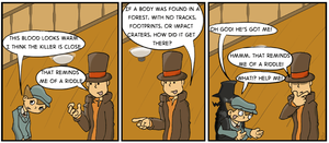 Professor Layton's Sense of Timing by grossboy