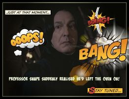 Comic Book Snape by sevvysgirl