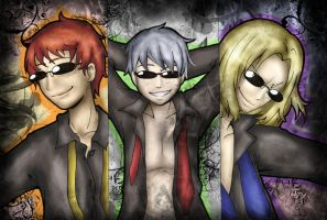 APH - Bad Ass Trio by AriaOfShadows