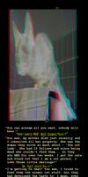 Cat People (Anaglyph) by Hiscules