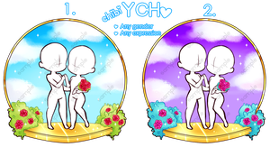 YCH Chibi Couple {CLOSED} by himawari-tan