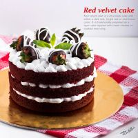 red velvet cake by Foofoo871
