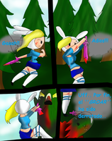 Adventure Time Comic- Parte 1 by LittlePanda3