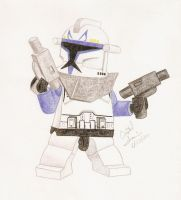 Lego Captain Rex by Crystal-Cat