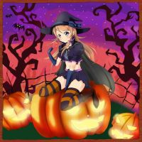Kirino Kousaka Kawaii Witch by gamera68