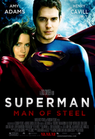 Superman Cavill-Adams Poster by Jo7a