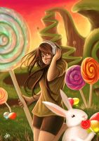lolly candy land by grimmreaper60
