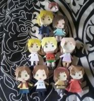 All of my Dolls to date~ (Marzia's collection) by Hetarella