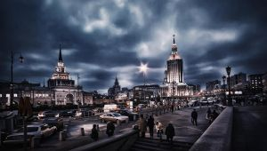 Darkness in Moscow by Tori-Tolkacheva