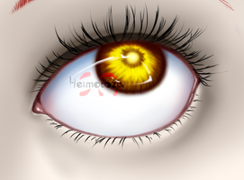 OC: Eye Practise by Heimotoza