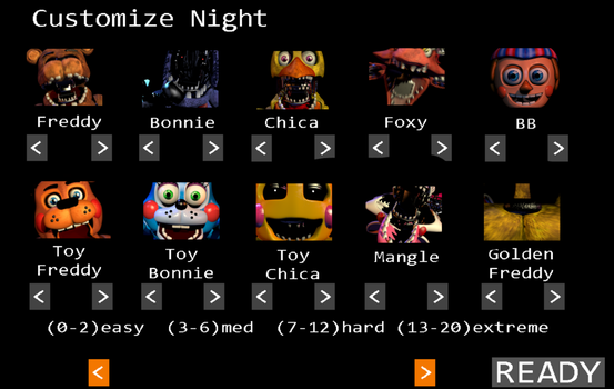 Custom Night with jumpscares instead of mugshots by Poiuy20102011