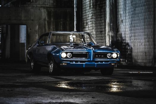Blue GTO by AmericanMuscle
