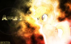 Apple Jack Wallpaper by EkkitaTheFilly