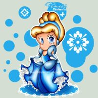 Chibi Princess . Cinderella by alittlemandy