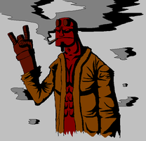 Hellboy by TK-no6