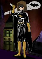 Tea as Gothams New Batgirl by Duel-Monsters