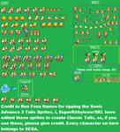 Classic Tails Advance Sprite Sheet by SuperKirbylover1
