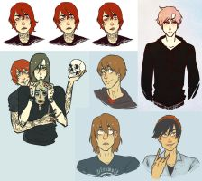 it's another sketchdump by zdecemberz