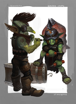 Goblin Sappers by rzanchetin