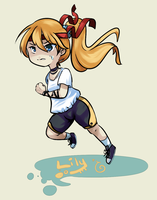 Vocaloid - Run, Lily!! by RynSama
