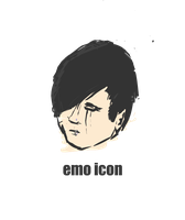 Emo Icon by radioactivity