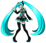 Miku Hatsune Print Preview by SonicRocksMySocks