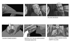 Fairfield Downs Airplane Storyboards by gzapata