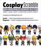 Cosplay Scramble Business Card by cosplayscramble