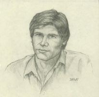 Harrison Ford (80s) by plushbug