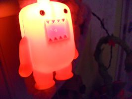 domo in the dark by SadieandMaddie