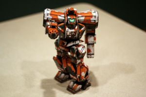 Zeus_completed_papercraft_fron by monkeyrum