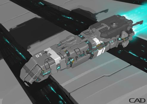 Terran Scout by ConnorDiver