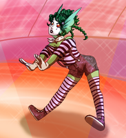 Next Top Monster Round 2: Mime's the Word by NekoMajo