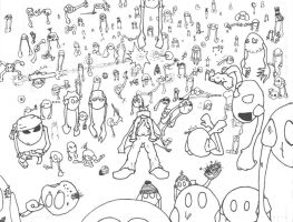Mechball Army -Inked- by no-limits